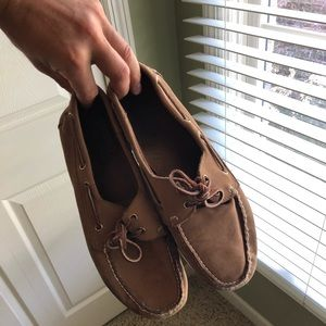Other - Tan boat shoes